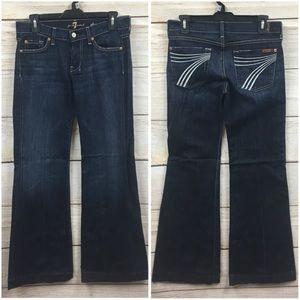Women's 7 For All Mankind Dojo Flare Leg Jeans 27